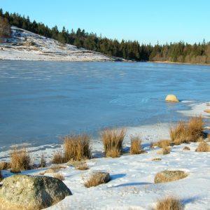 Lac des Pises gelé