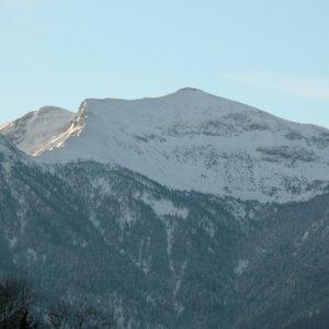 Le Pic de Burat (alt. 2154m.) vu de Fronsac