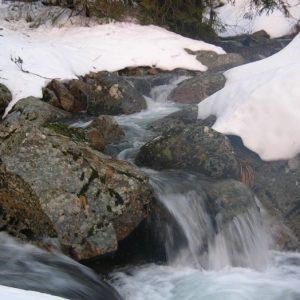 crépuscule aux sources de la Dourbie - Ginestous (Massif de l'Aigoual)
