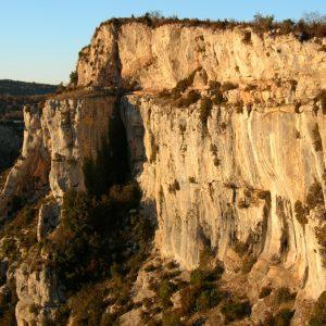 haut des Gorges de la Vis (Causse de Blandas - Gard)