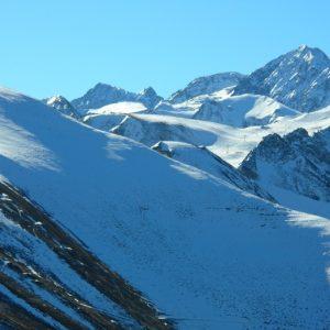 Pic Schrader (?) alt. 3174m., vu du Sommet de l'Aigle