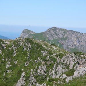 vue du Pic de l'Escalette, le Pic du Gar