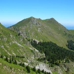 le Pic de Cagire (1912m.), du Pic de l'Escalette
