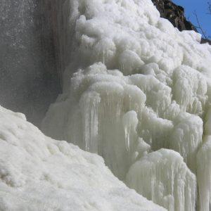 Cascade gelée (Nasbinals)