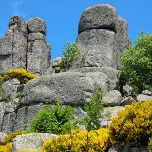 Rocs de Montal (alt. 1349m.) - Mont Lozère, vers Finiels