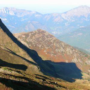 Pic de Palarquère (alt. 1858m.), vu du Col d'Esclot d'Aou - Luchonnais