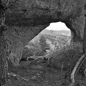 Roc-Altès, vue sur les Gorges de la Dourbie (Causse-Noir)