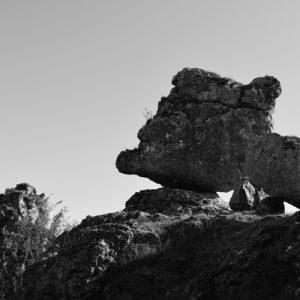 """""""gardiens"""" du sentier ... Chaos de Nîmes-le-Vieux (Causse Méjan)"""