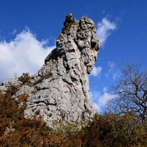 """vers la """"Jasse"""", Roc de Louradou (Aveyron)"""
