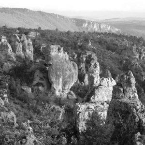 Rocs de Roquesaltes - Causse Noir, Gorges de la Dourbie