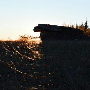 crépuscule au Dolmen du Puech