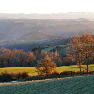 au dessus de Montjaux (Aveyron)
