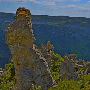 Roc de Roquesaltes - Causse Noir, Aveyron