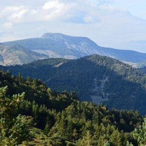Mont Mezenc, vue du Mont Gerbier-de-Jonc en Ardèche