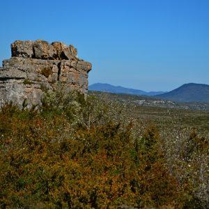 Roc de Mérigou vers Vissec, nord du Larzac