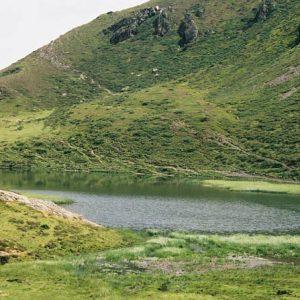 Lac d'Aygue Rouye - Côté vallée sud...