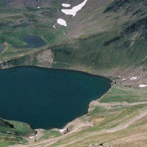 Le lac d'Oncet - En-dessous du pic du Midi... côté ouest... 2 253 m
