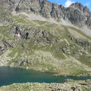Déversoir du lac nord