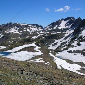 Les lacs du Col, et Glacé