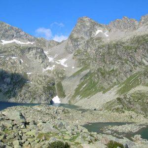 Arrivée aux lacs d'Estibe Aute, 2 360 m
