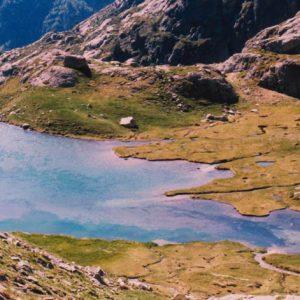 Le lac de l'Embarrat du Pourtet