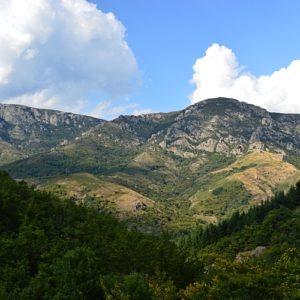 Mont Chabrier - vue des Chambonnières