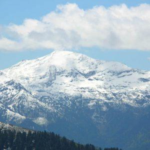 Le Montlude 2 512 m - Vue du pic de l'Escalette (1 856 m)