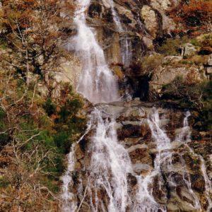 La cascade du Montlouvier - Cévennes sud du massif de l'Aigoual