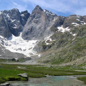 Oulettes du Vignemale - Arrivée au refuge des Oulettes à 2 150 m