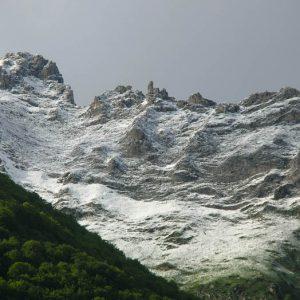 Pic du Cabaliros, 2 334 m... fin d'après-midi début juin... !