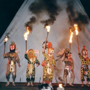 Grupo Sinaloense de Difocur, Mexique - Rite à Nezahualcoyotl