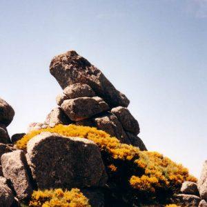 Roc des Chiens Fous -  Étang de Barrandon, mont Lozère