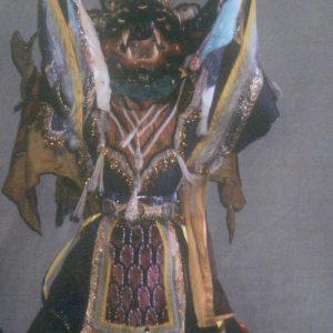 Ensemble INESSEI, Touva - Cérémonie tantrique vajrayana, ici Vajrabhairava ou Yamantaka (en tibétain : Shin-je cho-gyal), aspect secret/sagesse de Djampelyang, l'activité de connaissance...