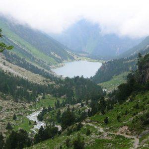 Vallée et lac de Gaube