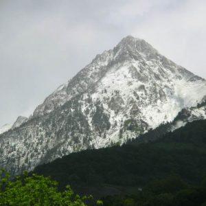 Pic de Viscos, 2 141 m - Face sud, vue de Cauterets