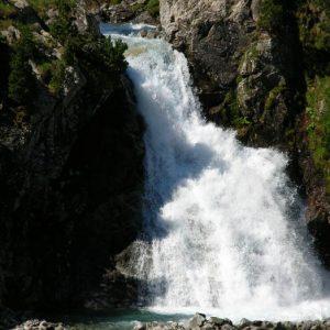 Cascade Esplumouse - À 1 949 m d'altitude