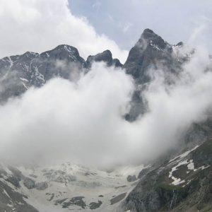 Vignemale et nuages...