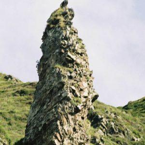 Pointe de roc... Aux abords du lac d'Aygue Rouye