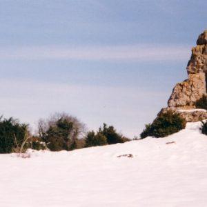 Rocher du Camp del Roube - À la Vacquerie sur le causse du Larzac
