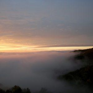mer de nuages (vue de Montjaux - Aveyron)