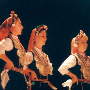 Belles jeunes Bulgares ! - De l'ensemble Trakia de Bulgarie