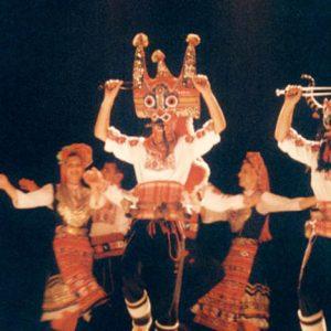 Ensemble Trakia - Troupe Nationale Bulgare de Plovdiv. Festival de Montignac, été 2000
