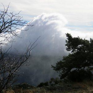 """vague de nuages, """"Calles de Combe Crose"""" (Mt Aigoual - flanc sud)"""