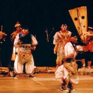 Danzaq - Ensemble du Pérou, festival du Puy-en-Velay (43), juillet 2004