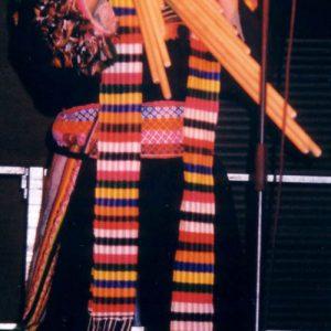 Roberto Yujra - Musicien accompli du groupe Awatinas, et joueur de flûte exceptionnel