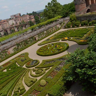jardin du musée Toulouse-Lautrec d'Albi