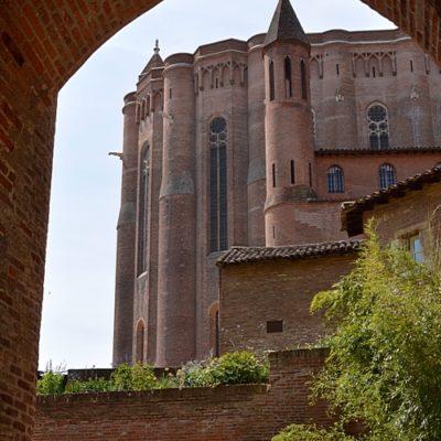 abside (côté nord) de la cathédrale Sainte-Cécile d'Albi