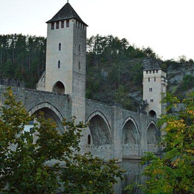 Le Pont Valentré à Cahors (Lot)