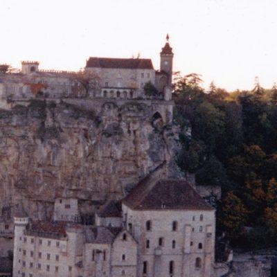 Notre-Dame de Rocamadour (vue du Causse de Gramat)